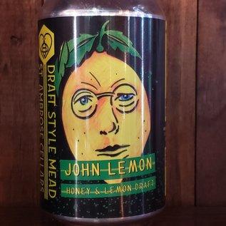 St. Ambrose John Lemon Mead, 6% ABV, 12oz Can