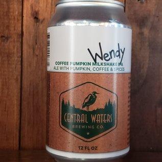 Central Waters Wendy Coffee Pumpkin Milkshake IPA, 7.2% ABV, 12oz Can