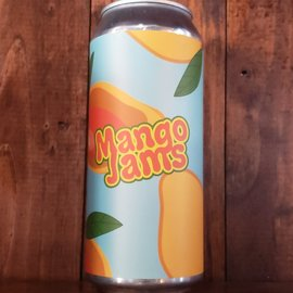 Brix City Mango Jams DDH DIPA, 8% ABV, 16oz Can