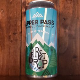 Upper Pass First Drop DDH Pale Ale, 5.9% ABV, 16oz Can