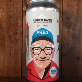 Upper Pass Fred Red Ale, 5.9% ABV, 16oz Can