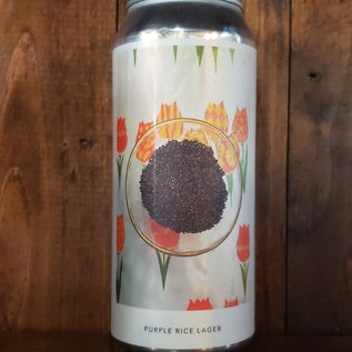 Evil Twin NYC Purple Rice Lager V.2, 5% ABV, 16oz Can