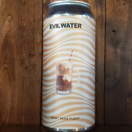 Evil Water Root Beer Float Hard Seltzer, 4.5% ABV, 16oz Can