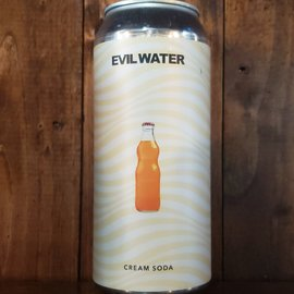 Evil Water Cream Soda Hard Seltzer, 4.5% ABV, 16oz Can