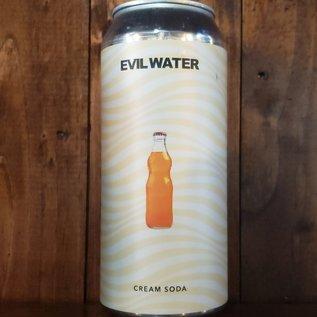 Evil Water Cream Soda Hard Seltzer, 4.5% ABV, 16oz Can