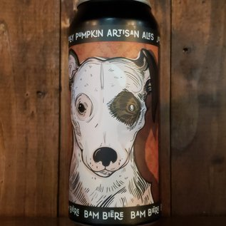 Jolly Pumpkin Bam Biere Oak Aged Farmhouse Ale, 4.5% ABV, 16oz Can