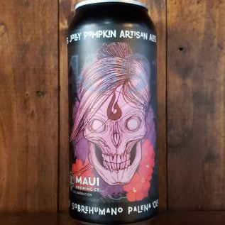 Jolly Pumpkin Sobrehumano Palena 'Ole Oak Aged Wild Ale, 5.5% ABV, 16oz Can