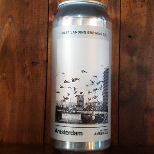 Mast Landing Amsterdam Amber Ale, 5% ABV, 16oz can