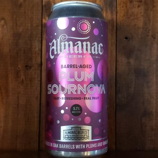 Almanac Plum Sournova Sour Ale, 5.2% ABV, 16oz Can