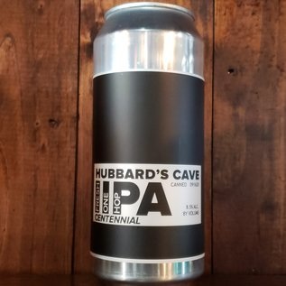 Hubbard's Cave Fresh IIPA One Hop Centennial Imperial IPA, 8.5% ABV, 16oz can