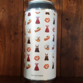 Evil Twin NYC TGI Oktober Festbier, 5.6% ABV, 16oz Can