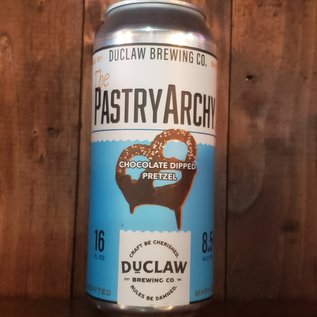 DuClaw The PastryArchy Chocolate Dipped Pretzel Stout, 8.5% ABV, 16oz Can