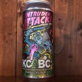 KCBC Intruders Attack! DDH DIPA, 8.5% ABV, 16oz Can