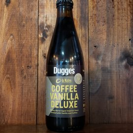 Dugges Whiskey BA Coffee Vanilla Deluxe Stout, 15% ABV, 11.2oz Bottle