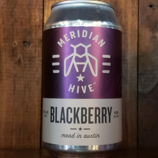 Meridian Hive Blackberry Mead, 6.5% ABV, 12oz Can