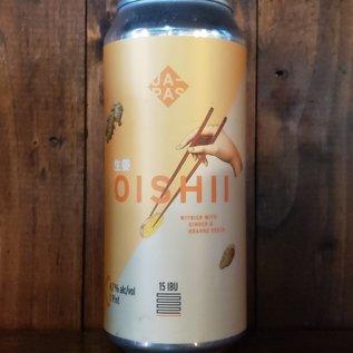 Japas Oishii Witbier, 4.7% ABV, 16oz Can