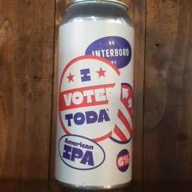 Interboro I Voted Today IPA, 6% ABV, 16oz Can