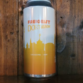 Freigeist Dortmunder Lager, 5.5% ABV, 16oz Can