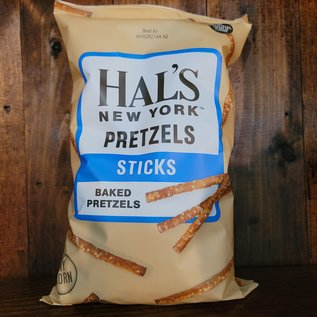 Hal's New York Pretzels Thins, 8oz Bag