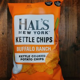 Hal's New York Buffalo Ranch Kettle Potato Chips 5 oz Bag