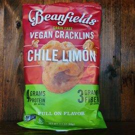 Beanfields Vegan Cracklins Chile Limon, 3.5oz Bag
