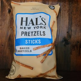 Hal's New York Pretzels Sticks, 8oz Bag