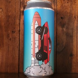 Hoof Hearted Faster Than The Future Stout, 13.5% ABV, 16oz Can