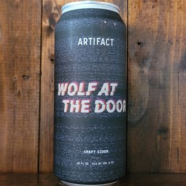 Artifact Wolf at the Door Cider, 6% ABV, 16oz Can