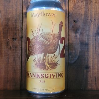 Mayflower Thanksgiving Ale, 6.7% ABV, 16oz Can