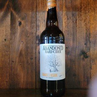Abandoned Hard Cider Forager's Reserve 2019, 6.9% ABV, 22oz Bottle