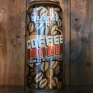 Surly Coffee Bender Brown Ale, 5.5% ABV, 16oz Can