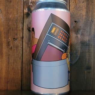 Hoof Hearted Don't Microwave It, Don't Boil It (Raspberry) Sour IPA, 6% ABV, 16oz Can