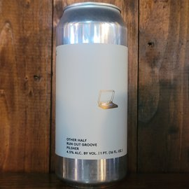 Other Half Run Out Groove Pilsner, 4.5% ABV, 16oz Can