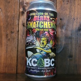 KCBC Invasion of the Berry Snatchers Sour Ale, 5.1% ABV, 16oz Can