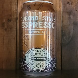 Cigar City Cubano-Style Espresso Brown Ale, 5.5% ABV, 12oz Can