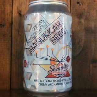 Shmaltz Hanukkah Beer 2020 Golden Jelly Donut Ale, 8% ABV, 12oz Can