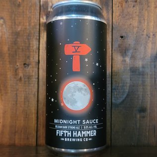 Fifth Hammer Midnight Sauce Belgian Dark Strong Ale, 9% ABV, 16oz Can