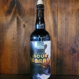 Upland Sour Reserve Blend #9 BA Sour Ale, 6% ABV, 25oz Bottle
