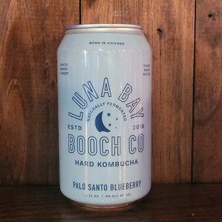 Luna Bay Booch Palo Santo Blueberry Hard Kombucha, 6% ABV, 12oz Can