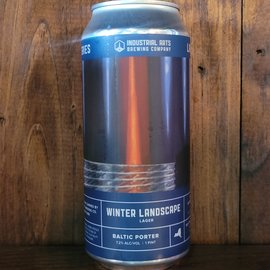 Industrial Arts Winter Landscape '20 Baltic Porter, 7.2% ABV, 16oz Can