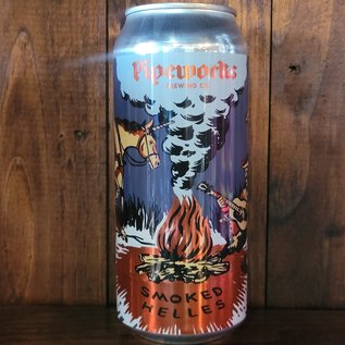 Pipeworks Smoked Helles Lager, 5% ABV, 16oz Can