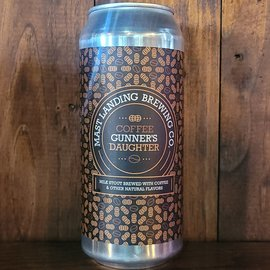 Mast Landing Coffee Gunner's Daughter Milk Stout, 5.5% ABV, 16oz Can
