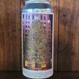 Evil Twin NYC Who Else Is Excited About This Year's Virtual Viewing Of The Rockefeller Center Christmas Tree? DDH IPA, 6% ABV, 16oz Can