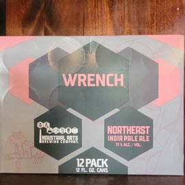 Industrial Arts Wrench IPA, 7.1% ABV,  12oz/12 Pack Cans