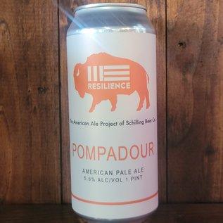 Resilience Pompadour American Pale Ale, 5.6% ABV, 16oz Can