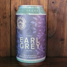 Crooked Stave Earl Grey Saison, 5% ABV, 12oz Can