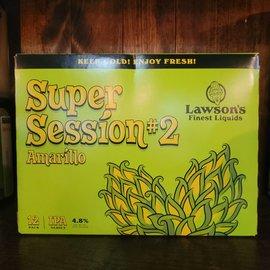 Lawson's Finest Liquids Super Session #2 (Amarillo) IPA, 4.8% ABV, 12pk Cans