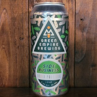 Green Empire Side Business IPA, 7% ABV, 16oz Can