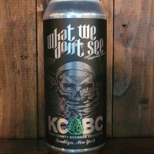 KCBC What We Don't See Imperial Stout, 9% ABV, 16oz Can