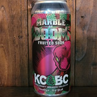 KCBC Marble of Doom II Sour Ale, 5.5% ABV, 16oz Can